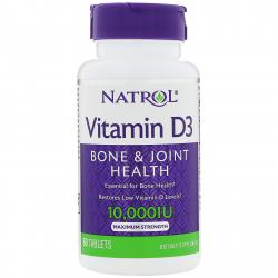 Natrol Vitamin D-3 10.000 IU 60 Tablets