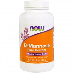 Now Foods D-Mannose Pure Powder 85 g