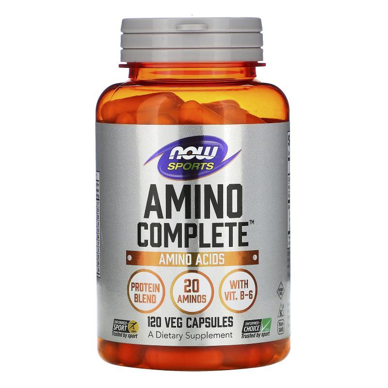 Now Foods Amino Complete 120 caps - фото 1