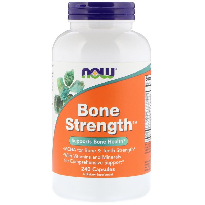 Now Foods Bone Strenght 240 caps - фото 1