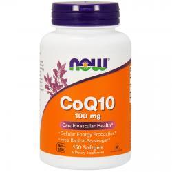 Now Foods CoQ10 100 mg 150 softgels