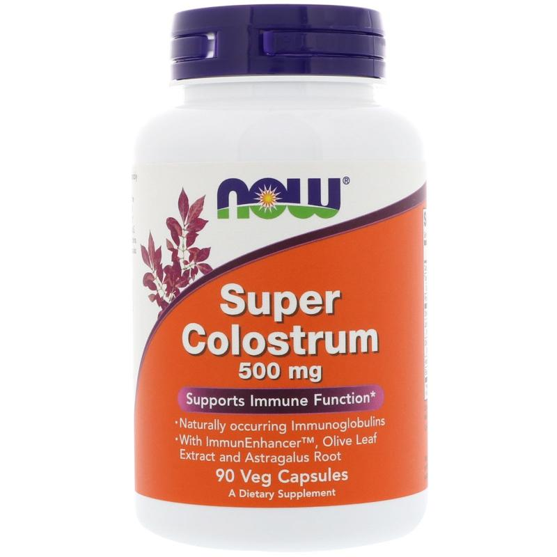 Now Foods Super Colostrum 500 mg 90 vcaps - фото 1
