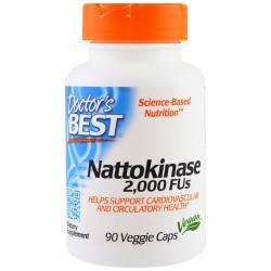 Doctor's Best Nattokinase 2.000 FU 90 vcaps
