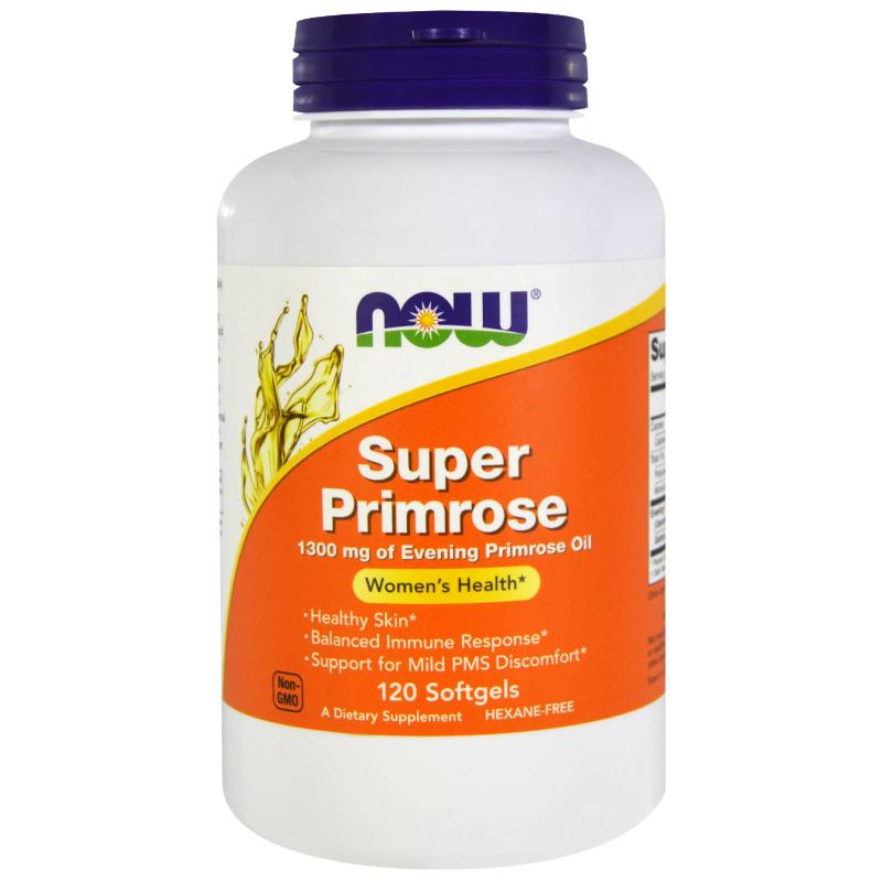 Now Foods Super Primrose 120 Softgels - фото 1