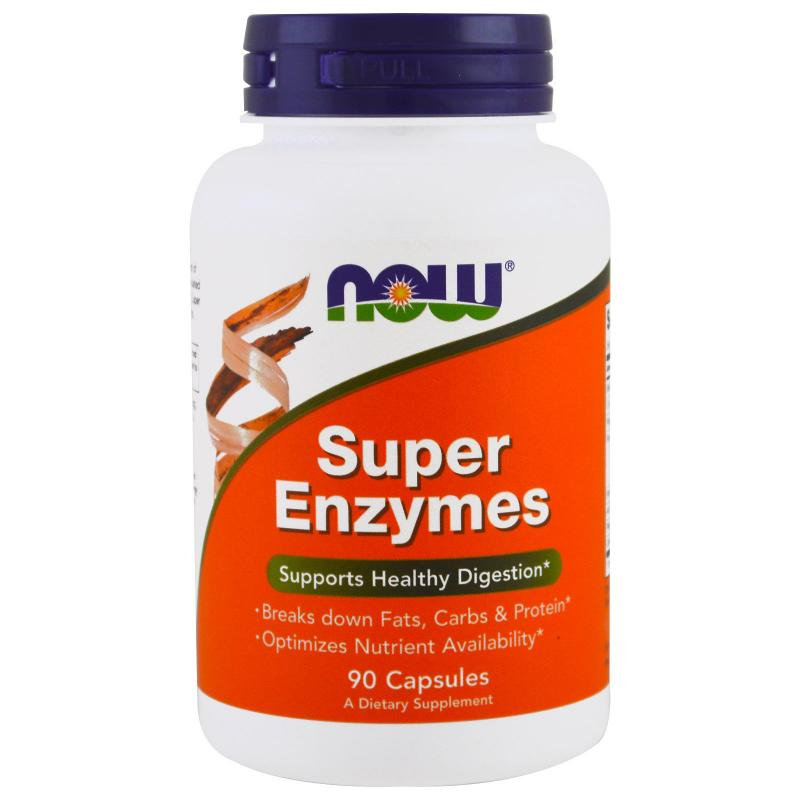 Now Foods Super Enzymes 90 vcaps - фото 1