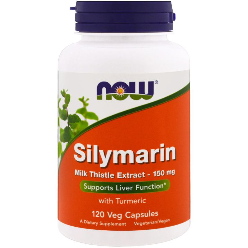 Now Foods Silymarine 150 mg 120 vcaps - фото 1
