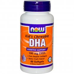 Now Foods DHA Kid's 100 mg 60 softgels