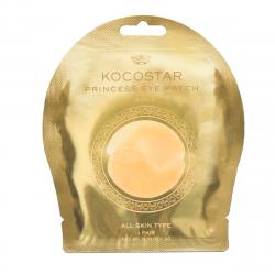 Kocostar Princess eye patch Гидрогелевые патчи для глаз с коллоидным золотом 2 шт