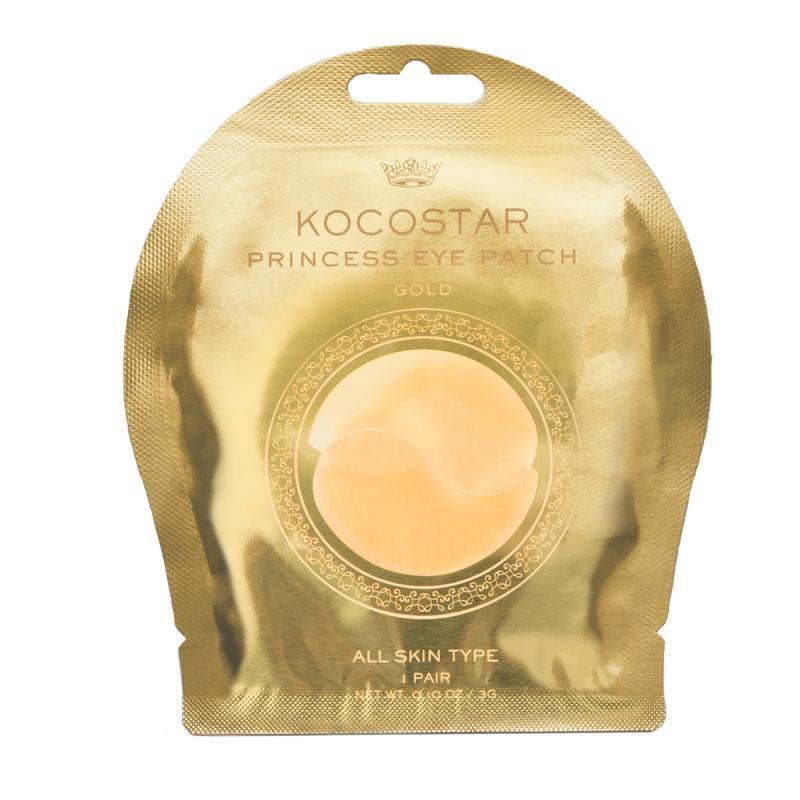 Kocostar Princess eye patch Гидрогелевые патчи для глаз с коллоидным золотом 2 шт - фото 1