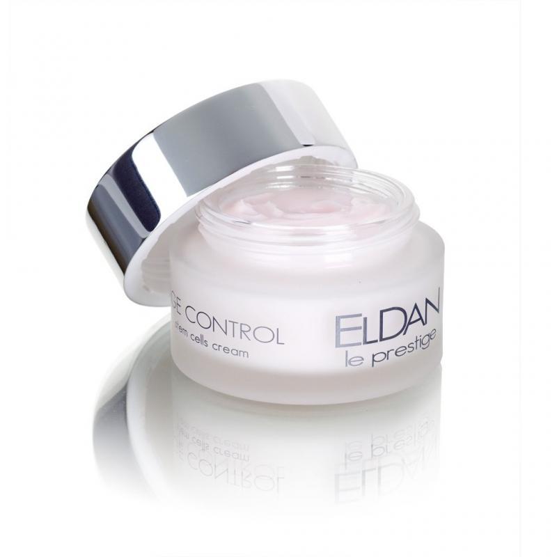 Eldan Age Control stem cells cream Крем 24 часа Клеточная терапия 50 мл - фото 1
