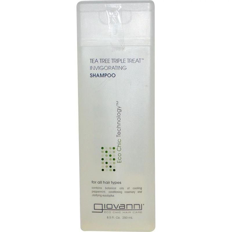 Шампунь Giovanni Shampoo Tea Tree Triple Treat 250 ml - фото 1