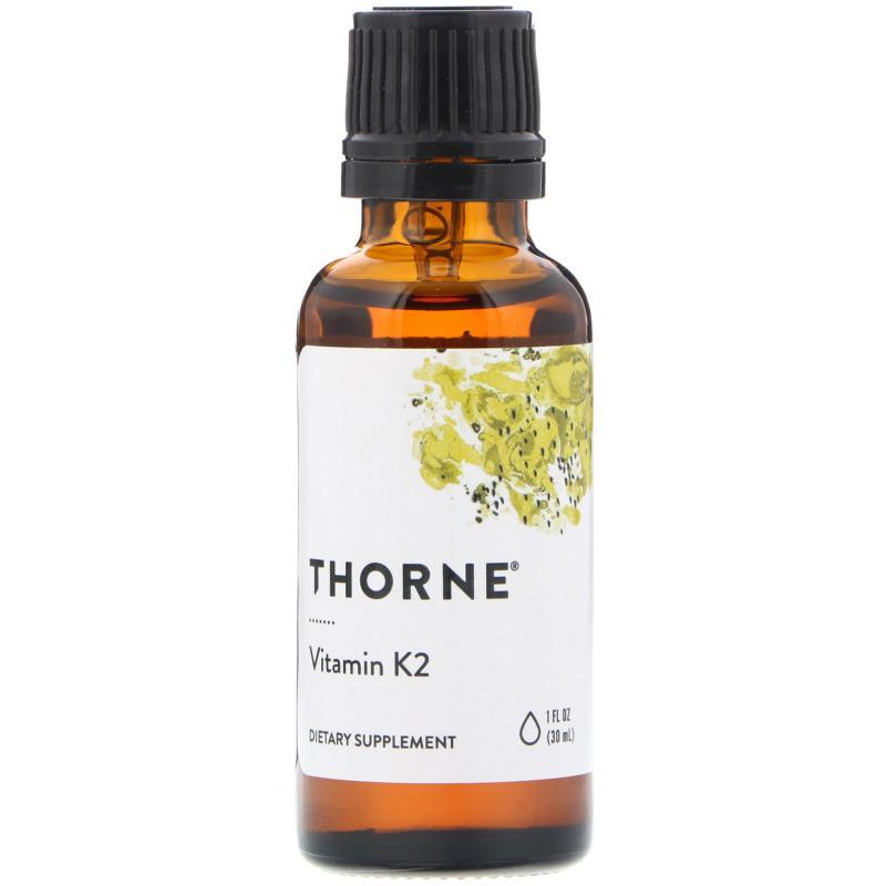 Thorne Research Vitamin K2 30 ml - фото 1