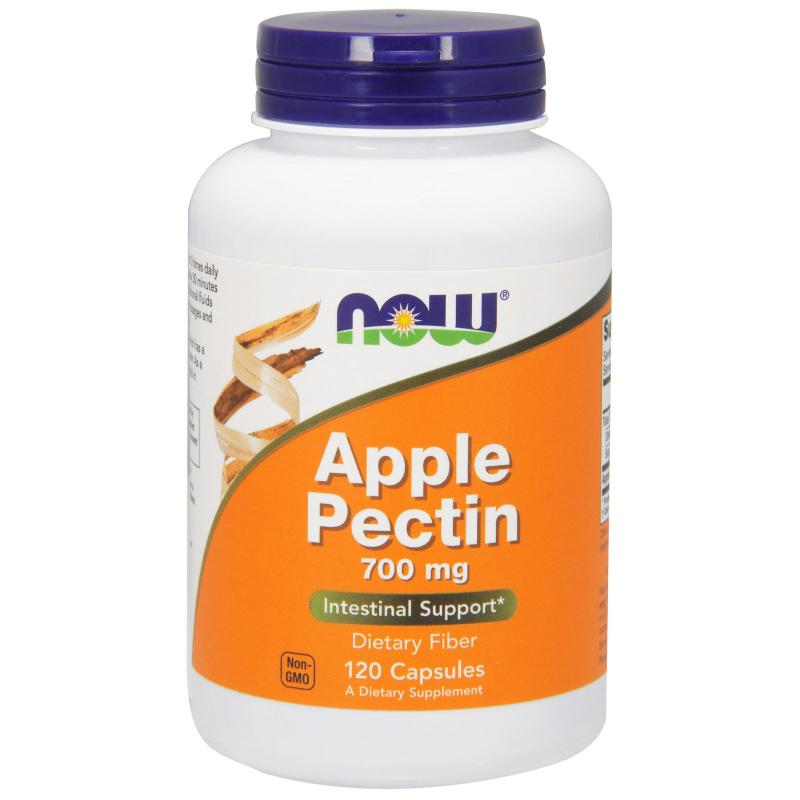 Now Foods Apple Pectin 700 mg 120 caps - фото 1