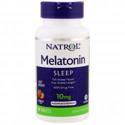 Natrol Melatonin Fast Dissolve Strawberry 10 mg 60 tab