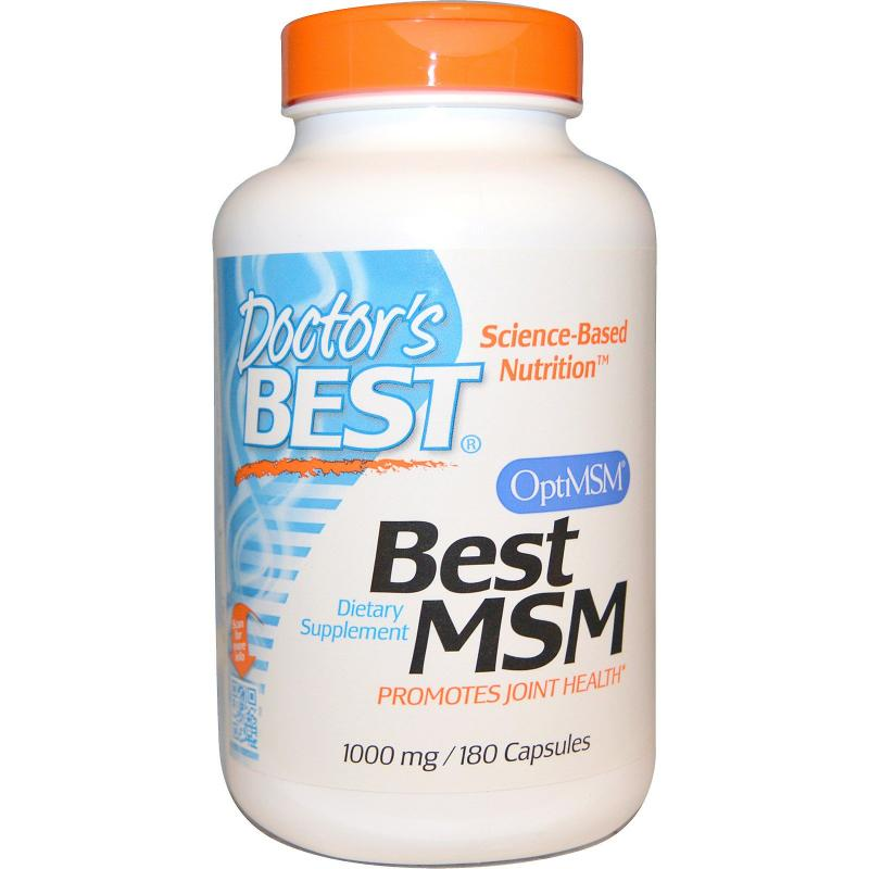 Doctor's Best Best MSM 1000 mg 180 Capsules - фото 1