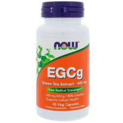 Now Foods EGCg Green Tea Extract 400 mg 90 vcaps