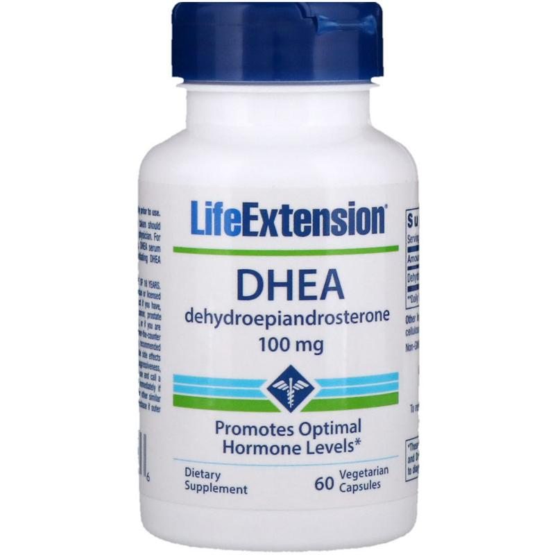 Life Extension Dhea 100 mg 60 vcaps - фото 1
