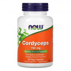 Now Foods Cordyceps 750 mg 90 vcaps