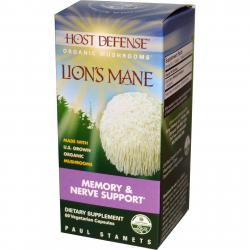 Fungi Perfecti Lion's Mane memory and nerve support 60 vcaps