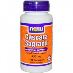 Now Foods Cascara Sagrada 450 mg 100 caps