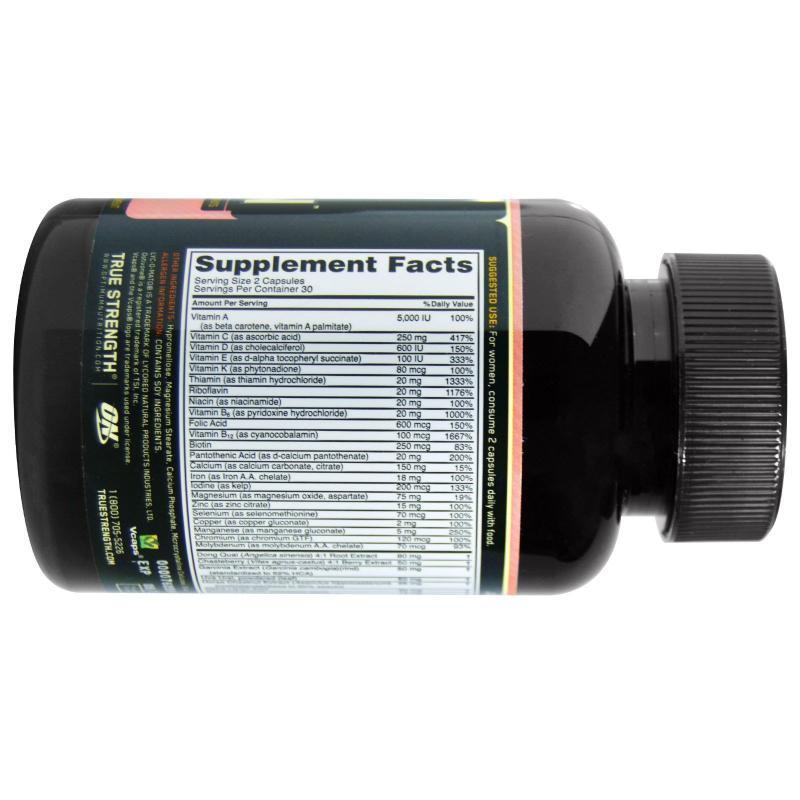 Optimum Nutrition Opti-Women 60 capsules - фото 1