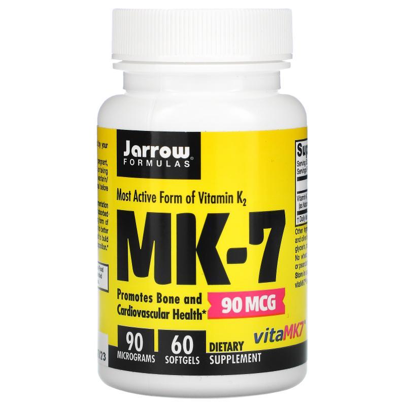 Jarrow Formulas MK-7 90 mkg 60 caps - фото 1